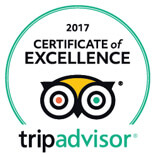 Certificate of excellence 2017 : tripadvisor