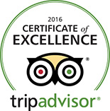Certificate of excellence 2016 : tripadvisor